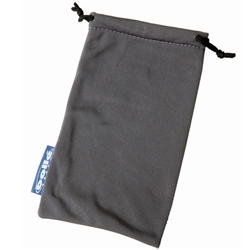 Bolle Safety Grey Drawstring Pouch
