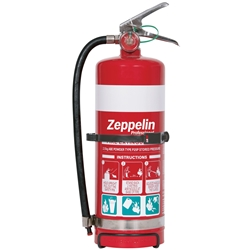 Zeppelin Professional 2.5kg ABE Dry Chemical Fire Extinguisher