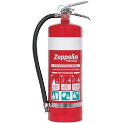 Zeppelin Professional 4.5kg ABE Dry Chemical Fire Extinguisher