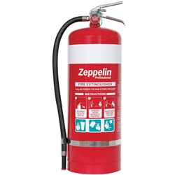 Zeppelin Professional 9kg ABE Dry Chemical Fire Extinguisher