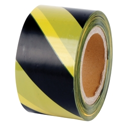 Yellow & Black D/Sided 100m Barrier Tape