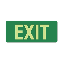 Exit Poly Sign 350x145mm