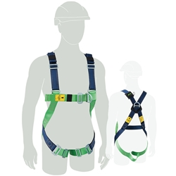 Miller® Polyester Construction Harness M1020063