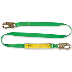 Miller® 2m Webbing Lanyard with Energy Absorber L11WEC2.0