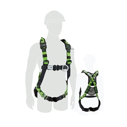 Miller M1020219 AirCore Aluminium Harness - Medium/Large