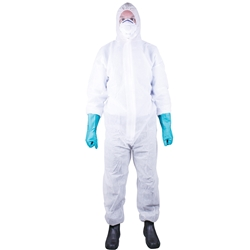 Blue Rapta Type 5/6 SMS 55GSM Disposable Coverall