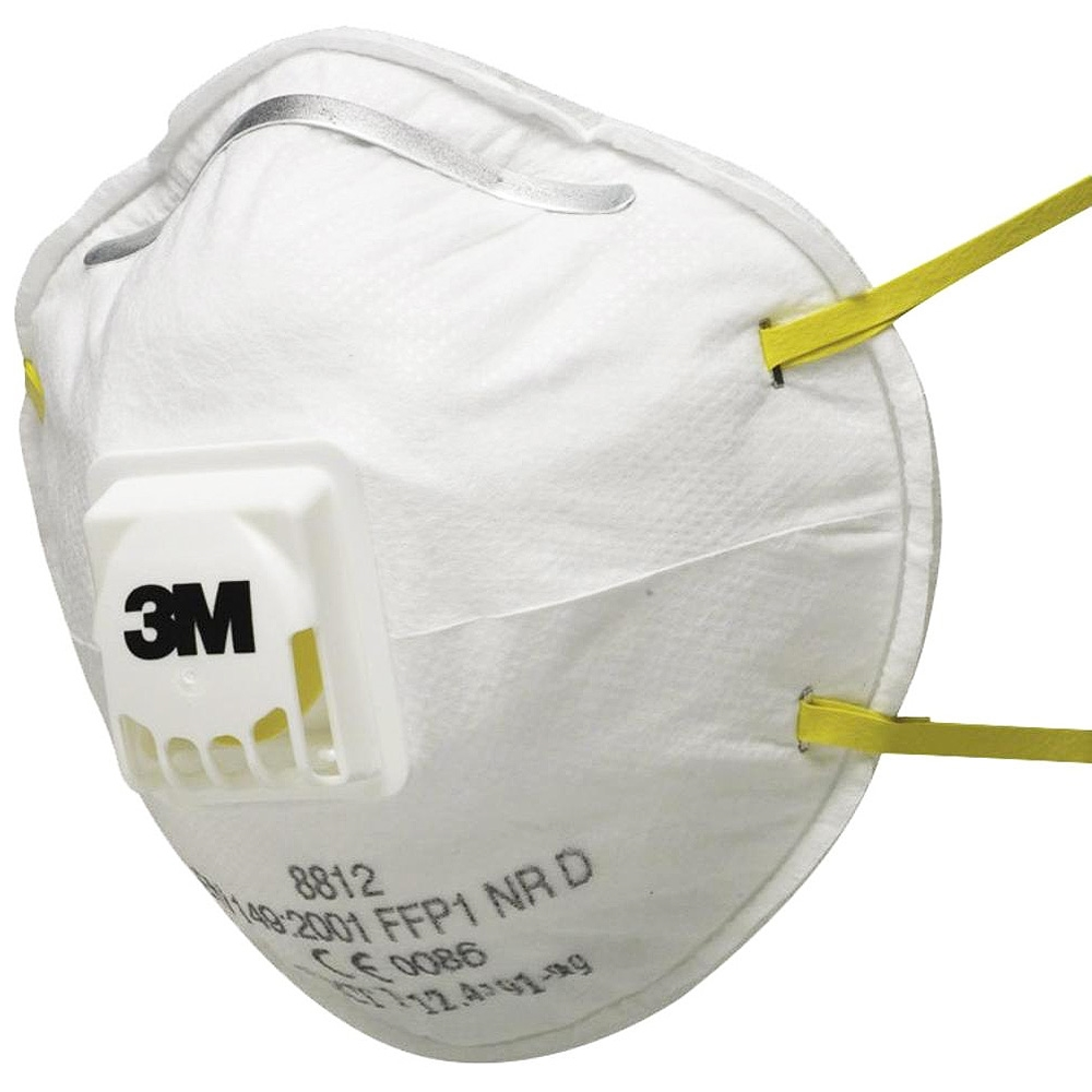 10 Particulate Cupped Ffp1 8812 Respirator 3m™ Valved bx