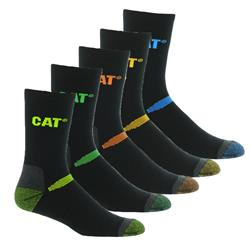 CAT® Workwear Crew Socks (Pk 5)