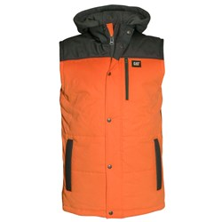 CAT® Workwear Hi-Vis Hooded Work Vest