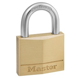 Master Lock® Diamond Brass 40x22mm Padlock 140DAU