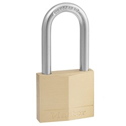 Master Lock® Padlock Diamond Brass 40x38mm Padlock 140DLFAU
