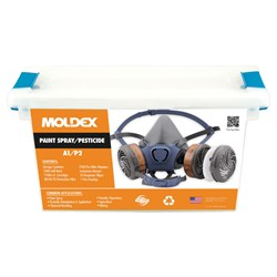 Moldex 7000 Series Paint Spray/Pesticide LARGE 70112A Respirator Kit