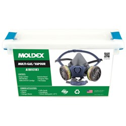 Moldex 7000 Series Multi-Gas/Vapour Smart Cartridge MEDIUM 70602A Respirator Kit