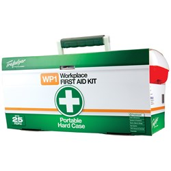 Trafalgar WP1 Workplace Portable Hard Case First Aid Kit 101562