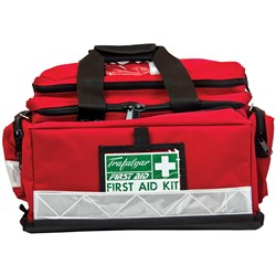 Trafalgar Burns Workplace First Aid Kit - Portable Soft Case