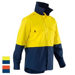 ELEVEN Workwear AeroCOOL Spliced Hi-Vis L/S Shirt