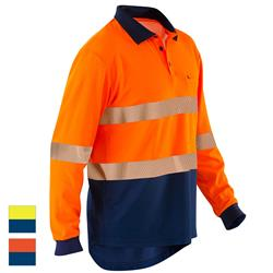 ELEVEN Workwear Spliced Hi-Vis Segmented