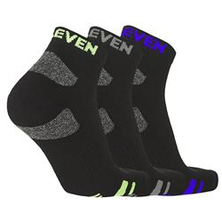 ELEVEN Workwear Essential Everyday Short Socks (3Pk)