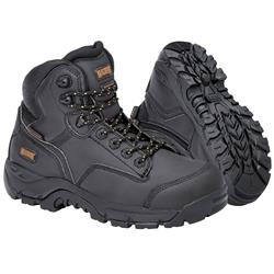 MAGNUM Precision Max Black Zip Sided Waterproof Safety Boots MPN100