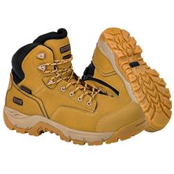 MAGNUM Precision Max Wheat Zip Sided Waterproof Safety Boots MPN150