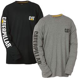 CAT® Workwear Trademark Banner L/S Tee