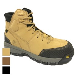 CAT® Footwear Device Zip Sided Waterproof Safety Boot