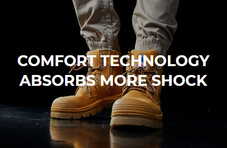 Comfortable Technology Absorbs More Shock