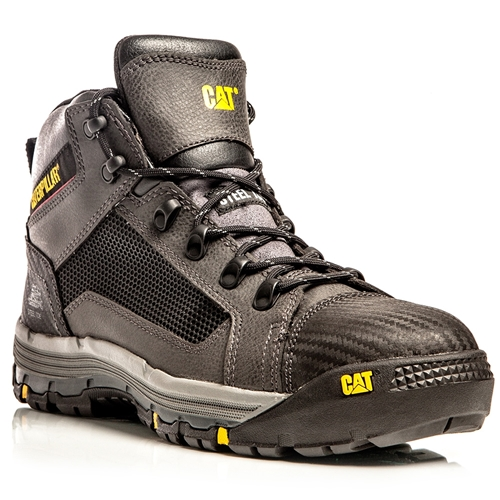 Convex Black Z/Sided Steel Toe Safety Boots